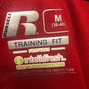 Men's workout shirt